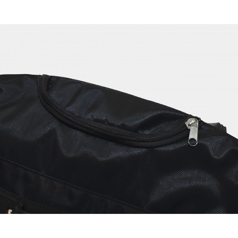 "STAILL Баул-сумка 34"" на колесах один карман  34-HK-1680: чёрный - 4"
