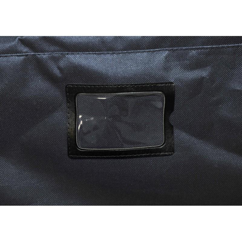 "STAILL Баул-сумка 34"" на колесах один карман  34-HK-1680: чёрный - 6"