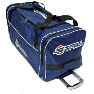 "STAILL Баул-сумка 34"" PRO на колесах два кармана  34-HK-1680: синий - 12"
