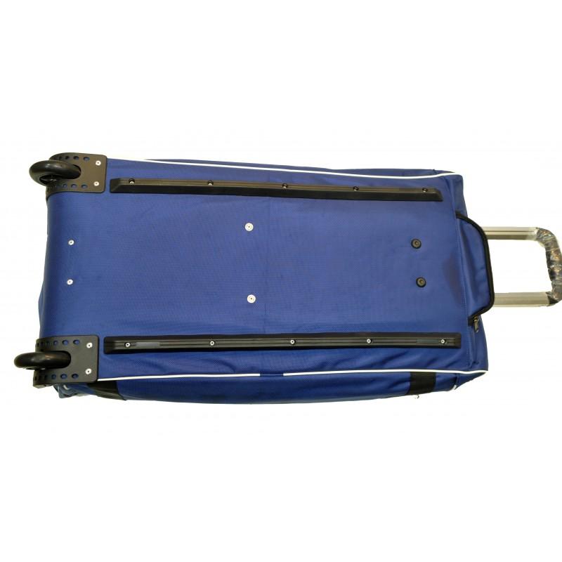 "STAILL Баул-сумка 34"" PRO на колесах два кармана  34-HK-1680: синий - 5"