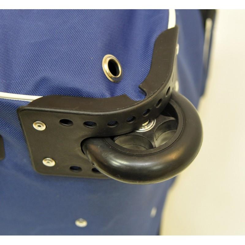 "STAILL Баул-сумка 34"" PRO на колесах два кармана  34-HK-1680: синий - 7"