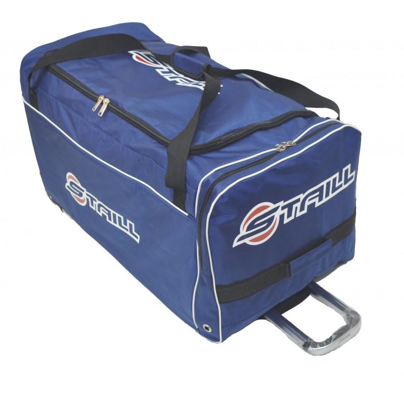 "STAILL Баул-сумка  36"" на колесах один карман  36-HK-1680: синий - 1"