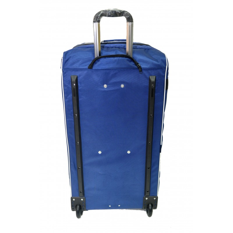 "STAILL Баул-сумка  36"" на колесах один карман  36-HK-1680: синий - 3"