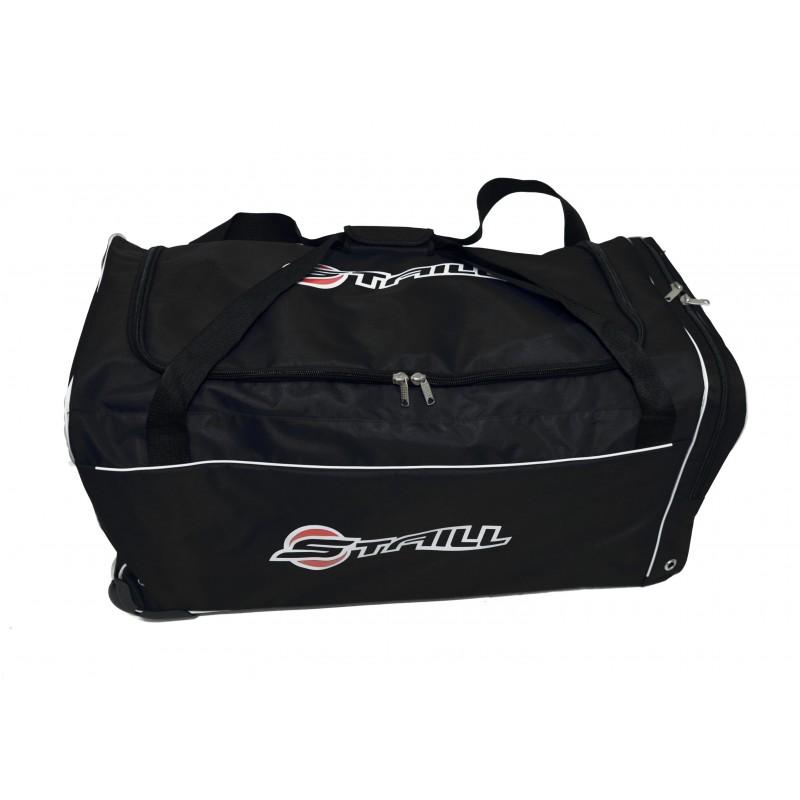 "STAILL Баул-сумка  36"" на колесах один карман  36-HK-1680: чёрный - 2"