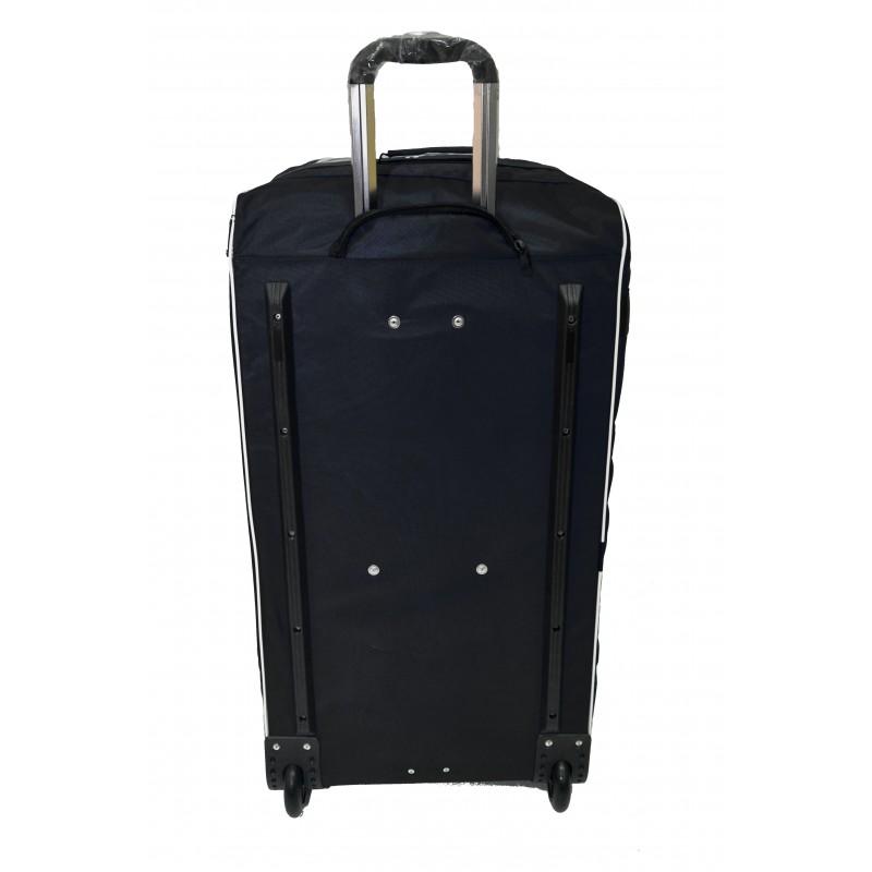 "STAILL Баул-сумка  36"" на колесах один карман  36-HK-1680: чёрный - 3"