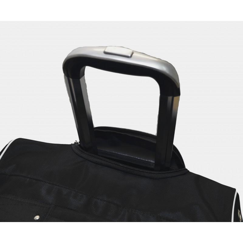 "STAILL Баул-сумка  36"" на колесах один карман  36-HK-1680: чёрный - 5"