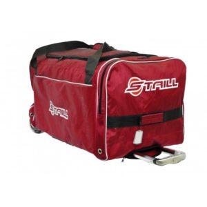 "STAILL Баул-сумка 36"" PRO на колесах два кармана  36-HK-1680: красный - 2"