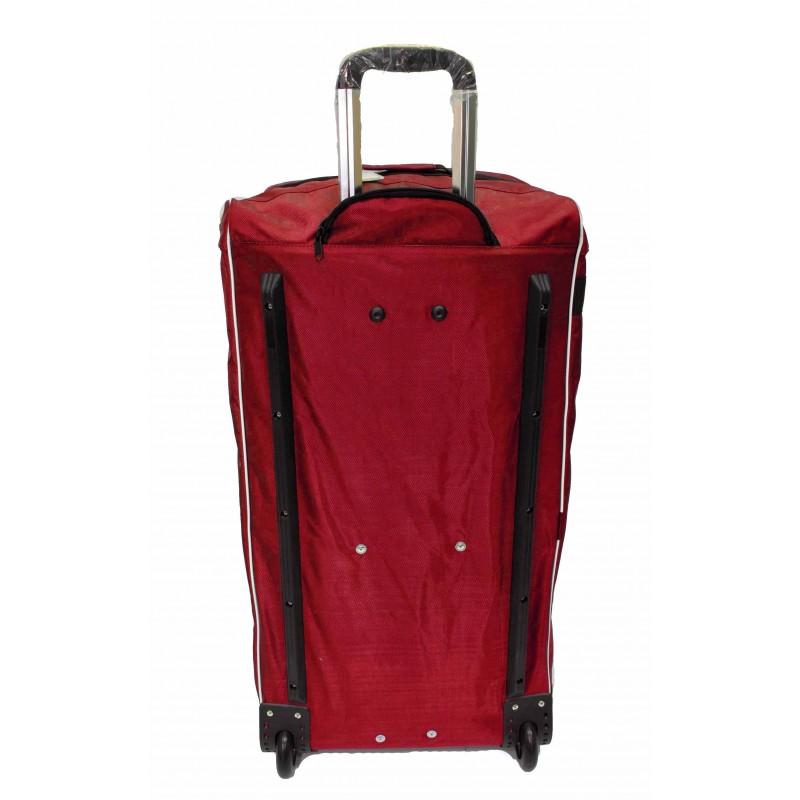 "STAILL Баул-сумка 36"" PRO на колесах два кармана  36-HK-1680: красный - 3"