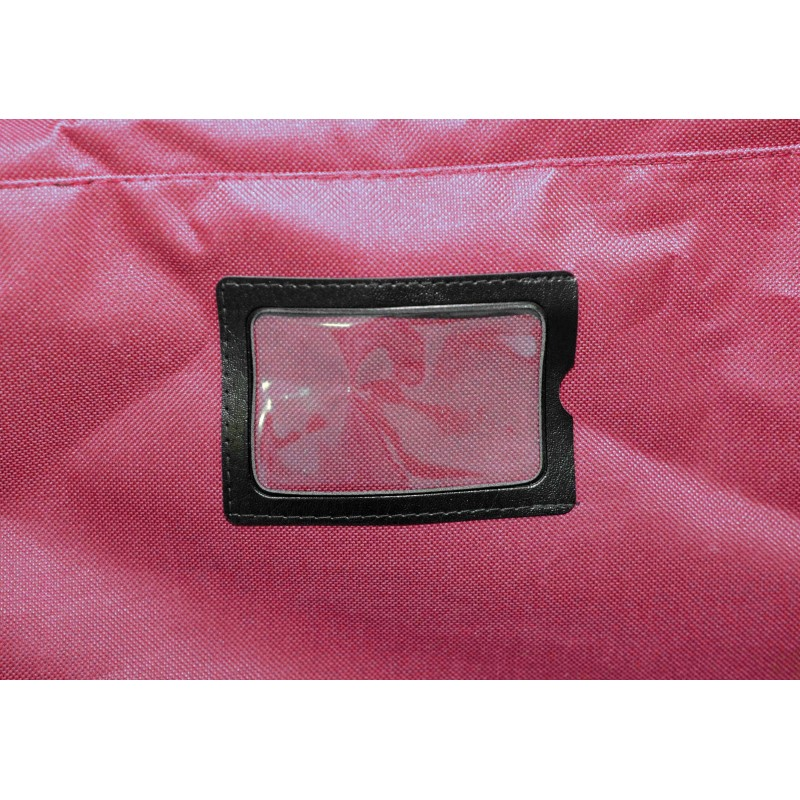 "STAILL Баул-сумка 36"" PRO на колесах два кармана  36-HK-1680: красный - 4"