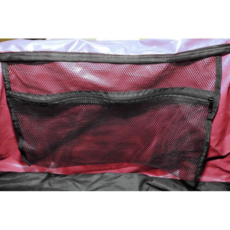 "STAILL Баул-сумка 36"" PRO на колесах два кармана  36-HK-1680: красный - 5"
