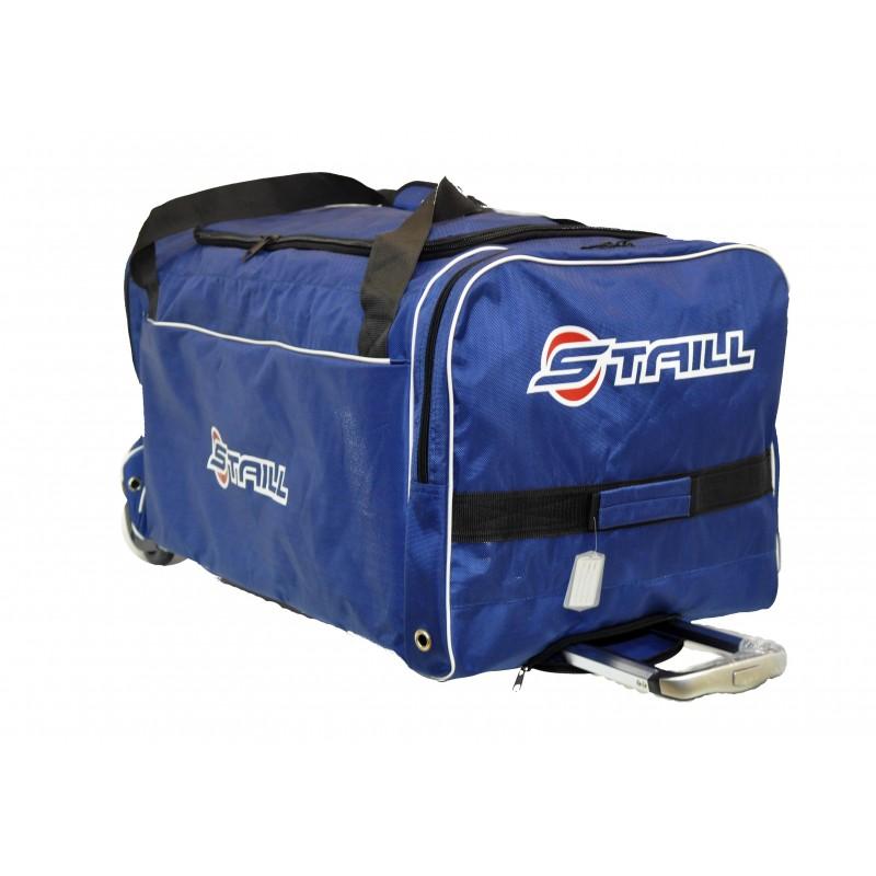 "STAILL Баул-сумка 36"" PRO на колесах два кармана  36-HK-1680: синий - 1"