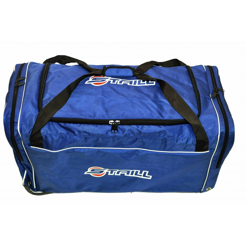 "STAILL Баул-сумка 36"" PRO на колесах два кармана  36-HK-1680: синий - 2"