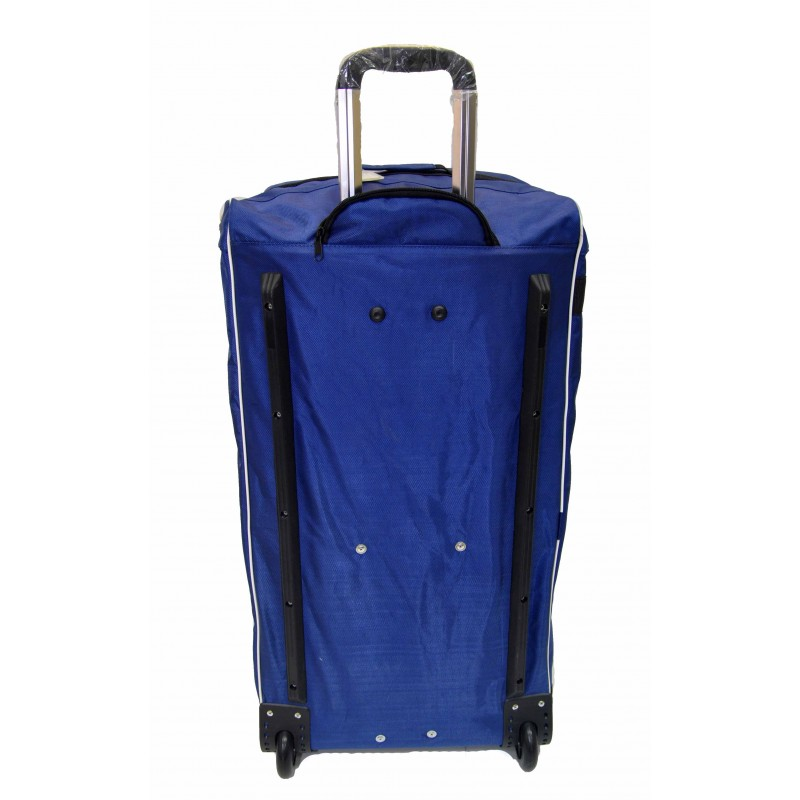 "STAILL Баул-сумка 36"" PRO на колесах два кармана  36-HK-1680: синий - 3"
