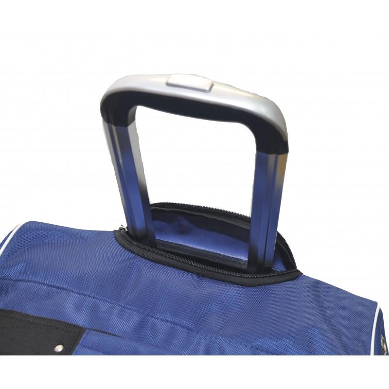 "STAILL Баул-сумка 36"" PRO на колесах два кармана  36-HK-1680: синий - 5"