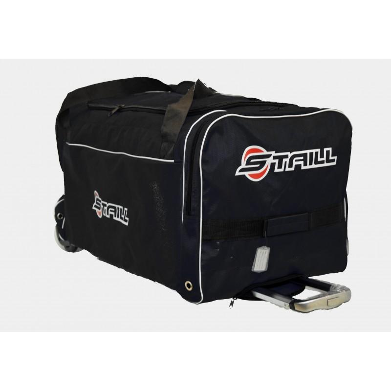 "STAILL Баул-сумка 36"" PRO на колесах два кармана  36-HK-1680: чёрный - 1"
