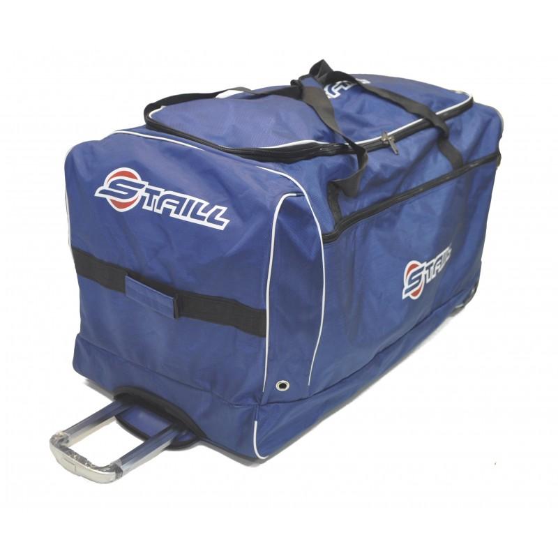 "STAILL Баул-сумка 40"" вратарский на трех колесах  40-HK-1680: синий - 1"
