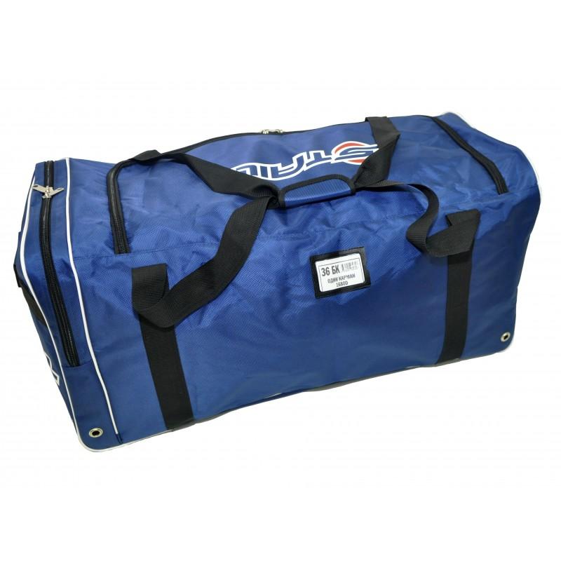 """STAILL Баул-сумка 36"""" PRO без колес один карман  36-БK-1680: синий - 3"""