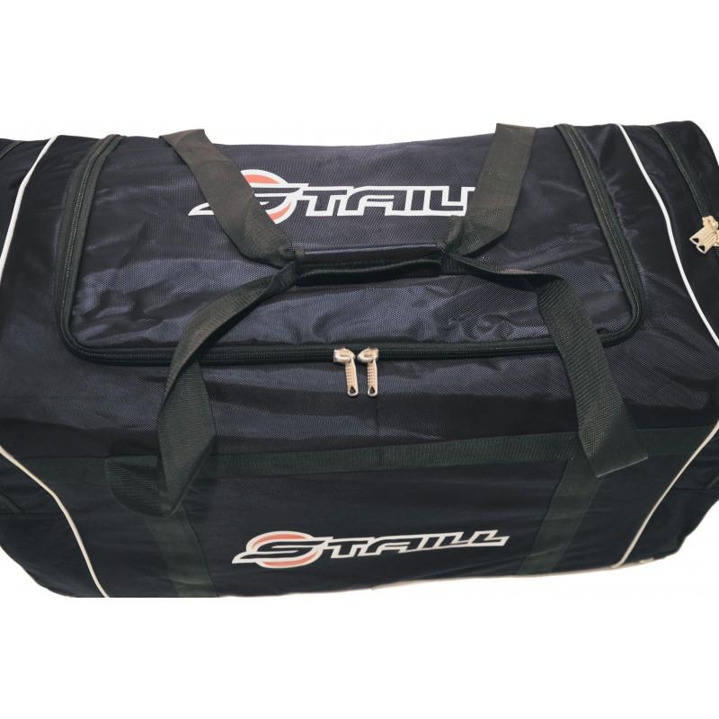 "STAILL Баул-сумка 38"" PRO без колес два кармана  38-БK-1680: чёрный - 2"