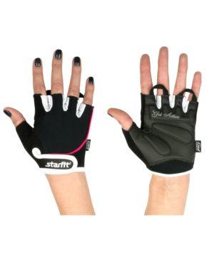 STARFIT Перчатки для фитнеса SU-111: чёрный/белый/розовый - 11