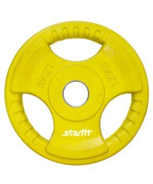 STARFIT Диск обрезиненный d-26мм 1,25кг BB-201 - 9