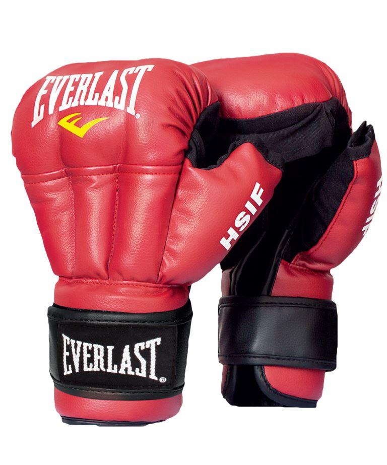 EVERLAST Перчатки для рукопашного боя, 12oz HSIF  RF3112: красный - 1