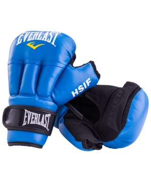 EVERLAST Перчатки для рукопашного боя, 12oz HSIF  RF3112: синий - 12
