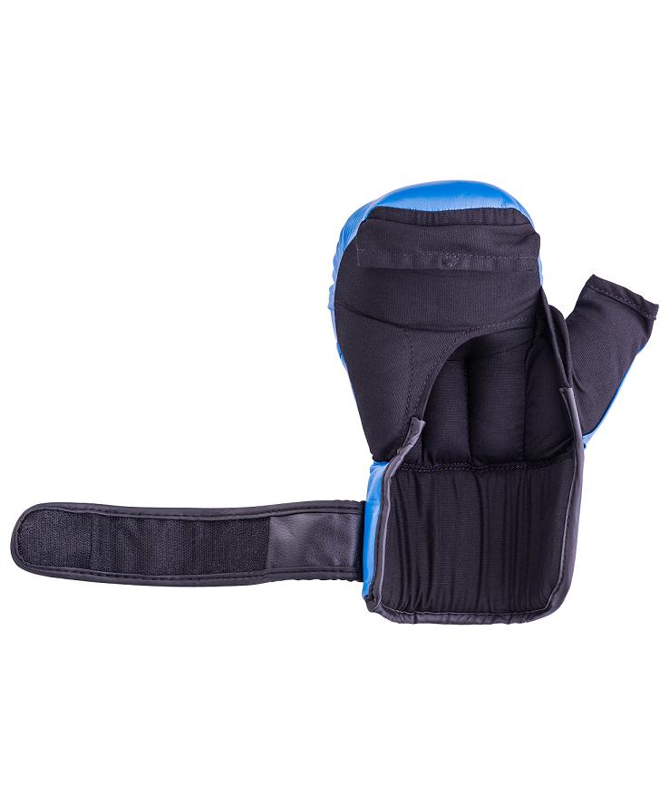 EVERLAST Перчатки для рукопашного боя, 12oz HSIF  RF3112: синий - 2
