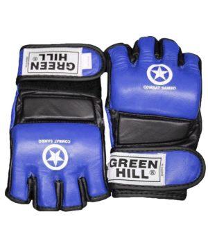 GREEN HILL Перчатки для MMA Combat Sambo  MMR-0027CS: синий - 11