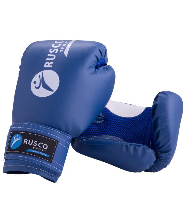 RUSCO Перчатки боксёрские 10oz, к/з  9847 - 1