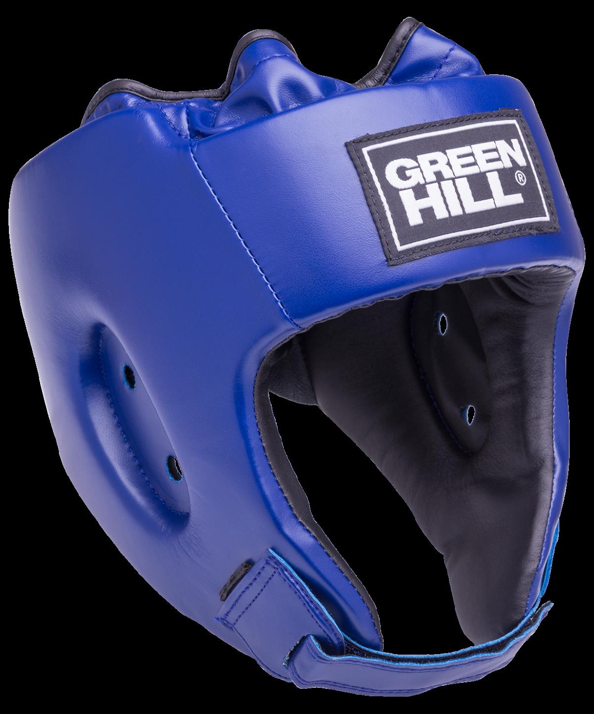 GREEN HILL Шлем открытый Special  HGS-4025: синий - 1