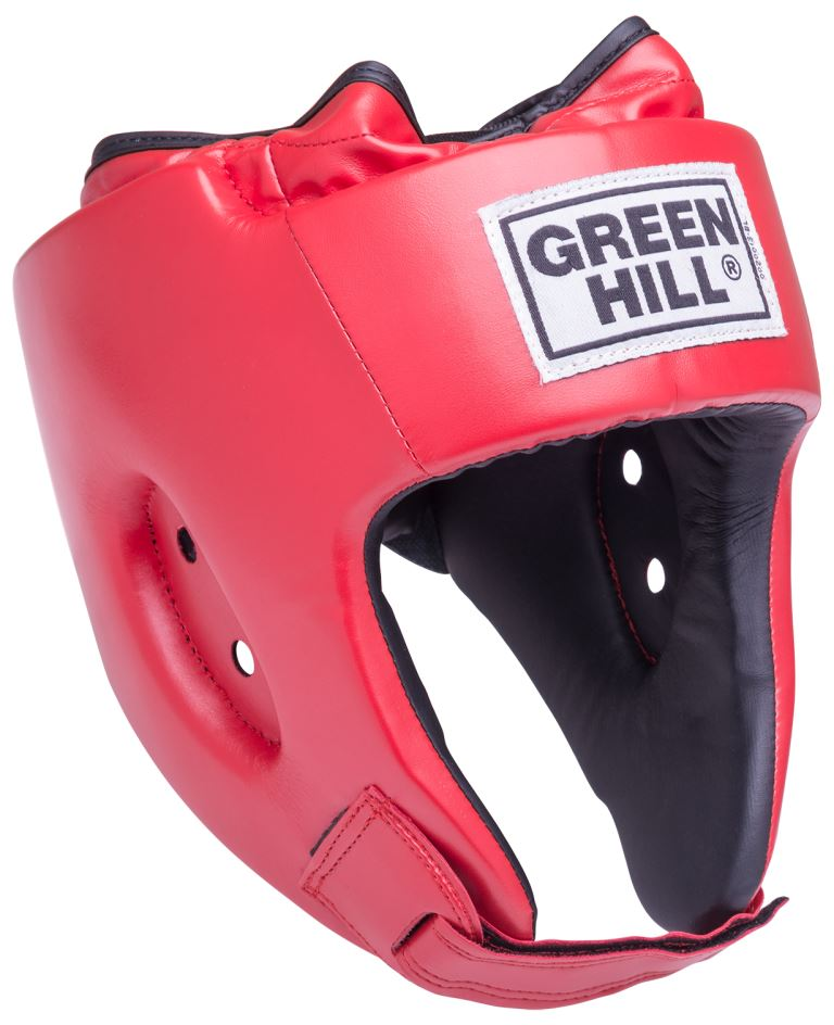 GREEN HILL Шлем открытый Special  HGS-4025: красный - 1