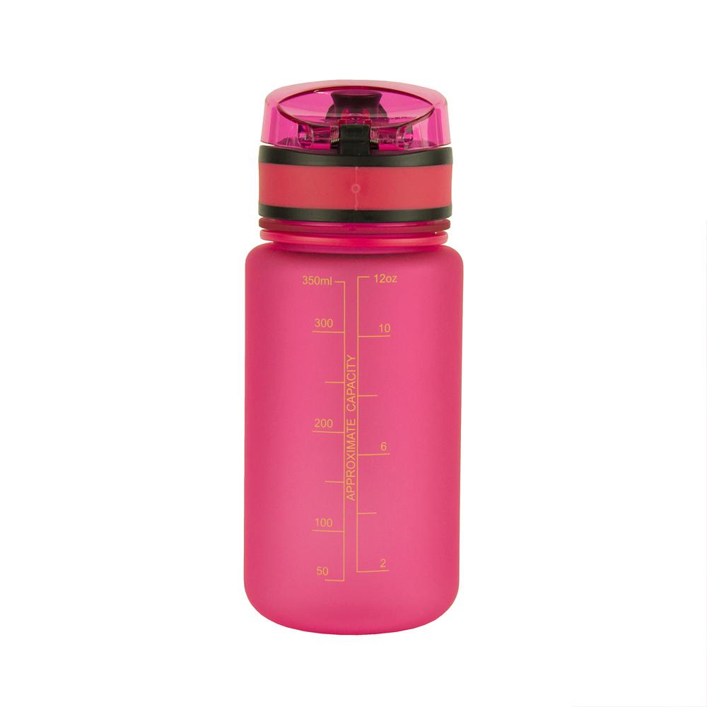 UZSPACE Бутылка для воды 350мл 3034: розовый - 1