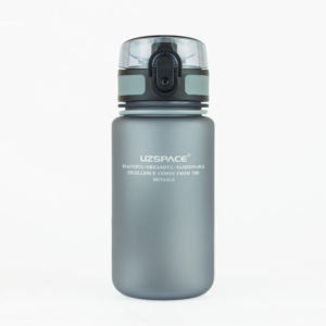 UZSPACE Бутылка для воды 350мл 3034: серый - 2