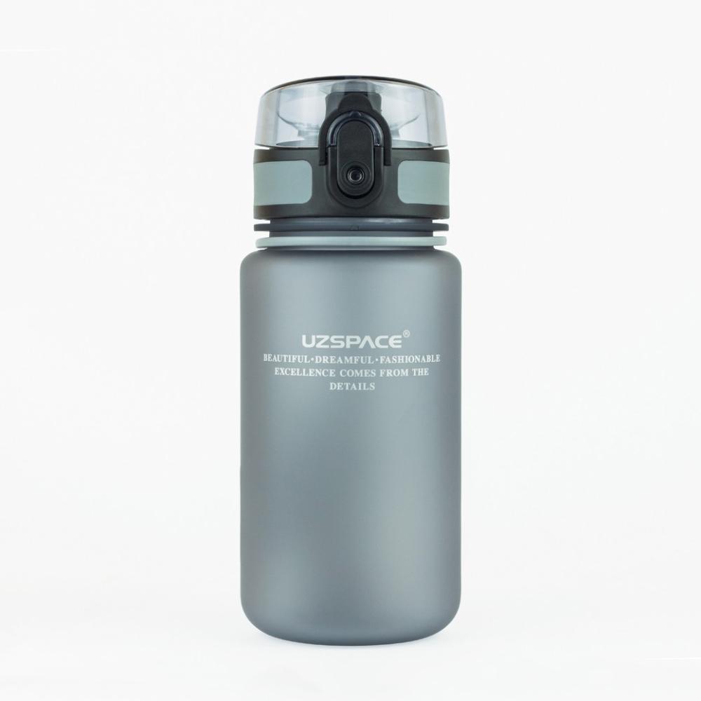UZSPACE Бутылка для воды 350мл 3034: серый - 1