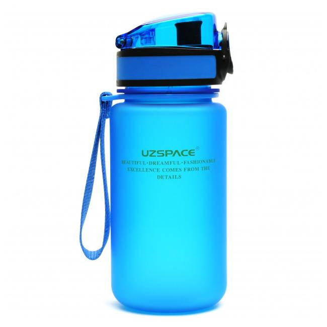 UZSPACE Бутылка для воды 350мл 3034: синий - 1