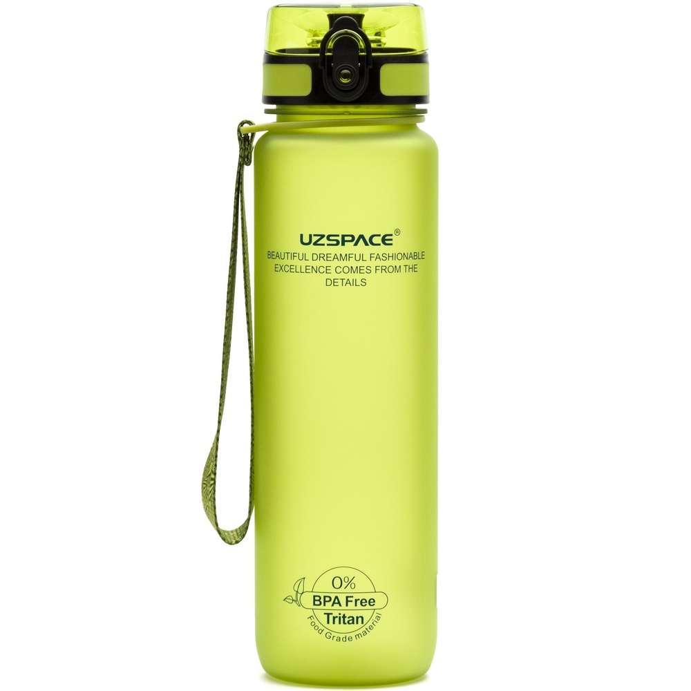 UZSPACE Бутылка для воды 500мл 3026: зелёный - 1