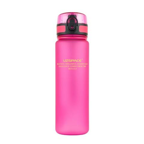 UZSPACE Бутылка для воды 500мл 3026: розовый - 1