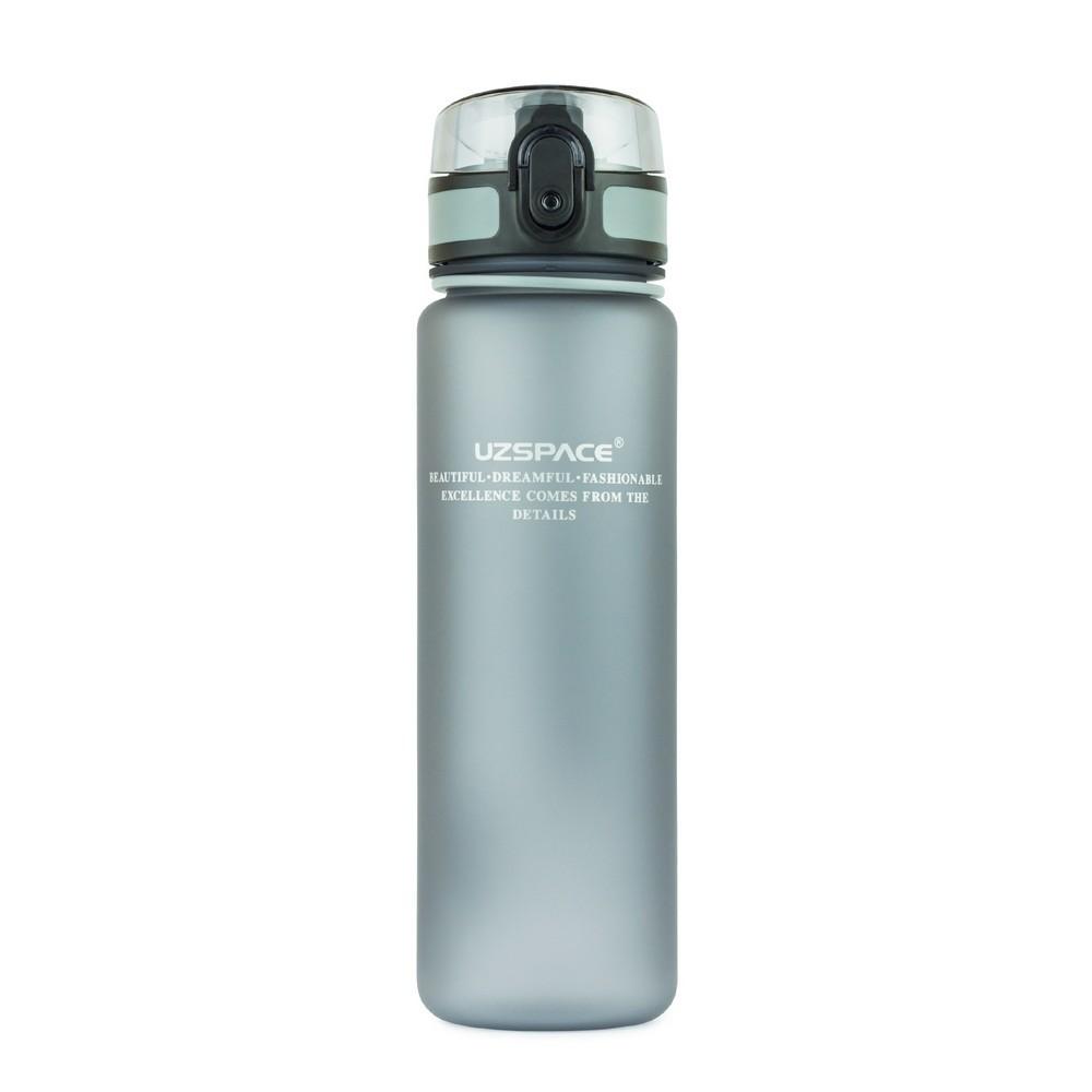 UZSPACE Бутылка для воды 500мл 3026: серый - 1