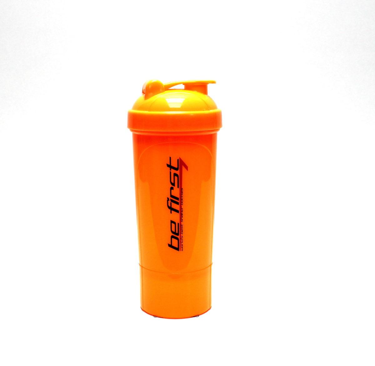 BE FIRST Шейкер-слим 350 мл TS1349: оранжевый - 1