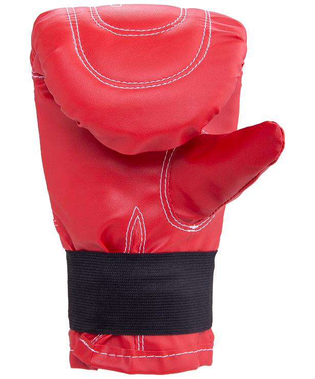 RUSCO Перчатки снарядные, кожзам 142: красный - 2