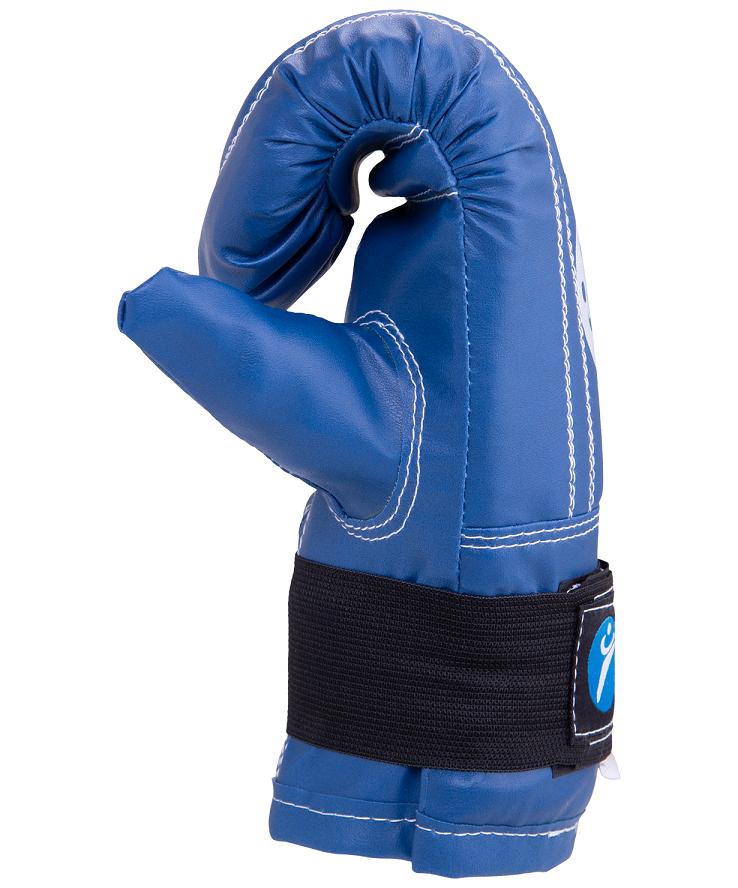 RUSCO Перчатки снарядные, кожзам 142: синий - 2
