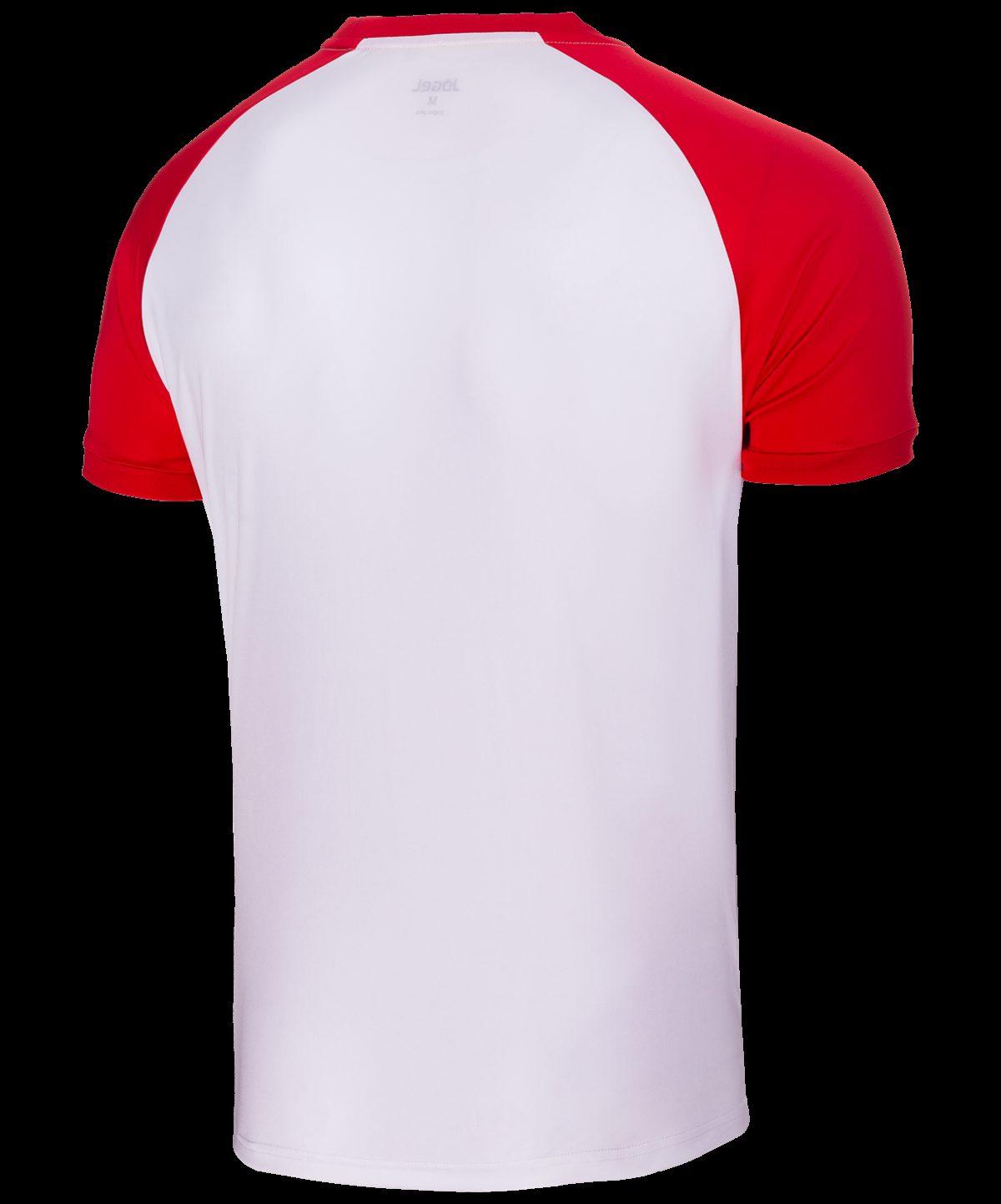 JOGEL Футболка футбольная, белый/красный   JFT-1011-012 - 3