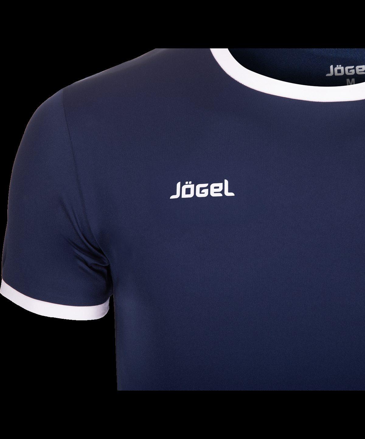 JOGEL Футболка, синий/белый  JFT-1010-091 - 3