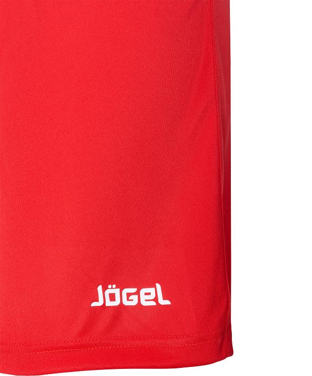 JOGEL Шорты футбольные, красный/белый  JFS-1110-021 - 3