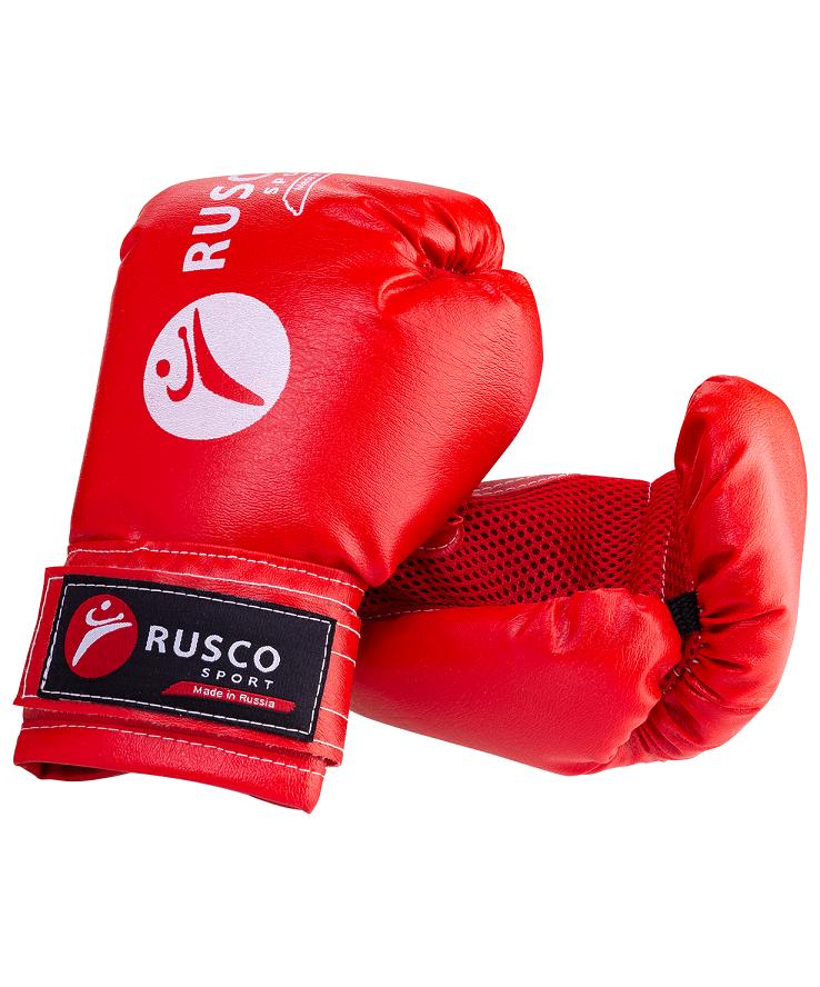 RUSCO Набор для бокса Rusco, 6oz, кожзам, красный  13971 - 3