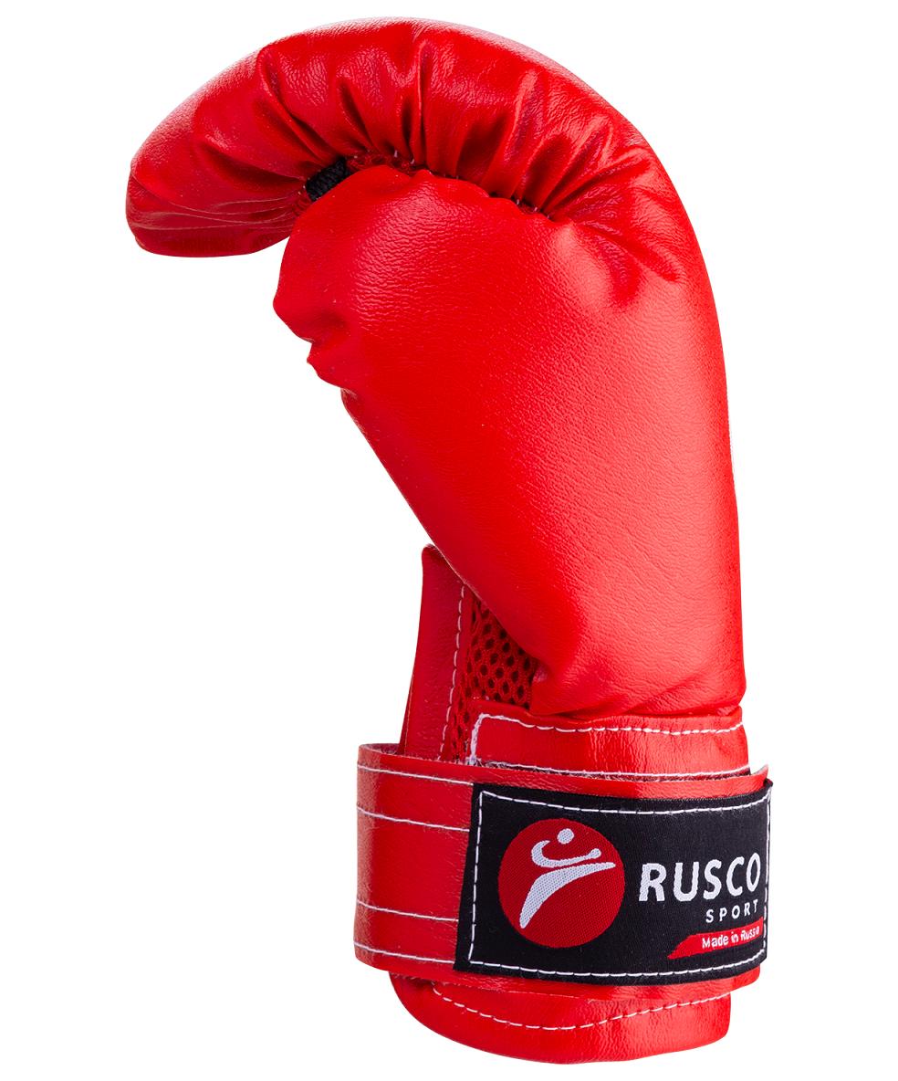 RUSCO Набор для бокса Rusco, 6oz, кожзам, красный  13971 - 4