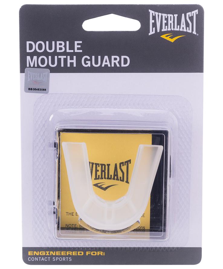 EVERLAST Капа 2-челюстная Double  4410E: прозрачный - 1