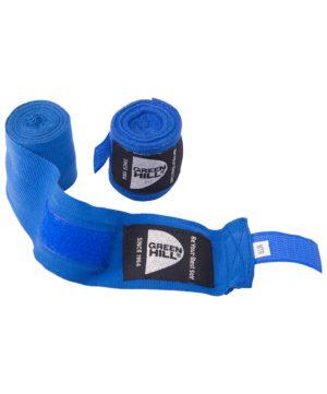 GREEN HILL Бинт боксерский 2,5м, х/б  BC-6235а: синий - 14