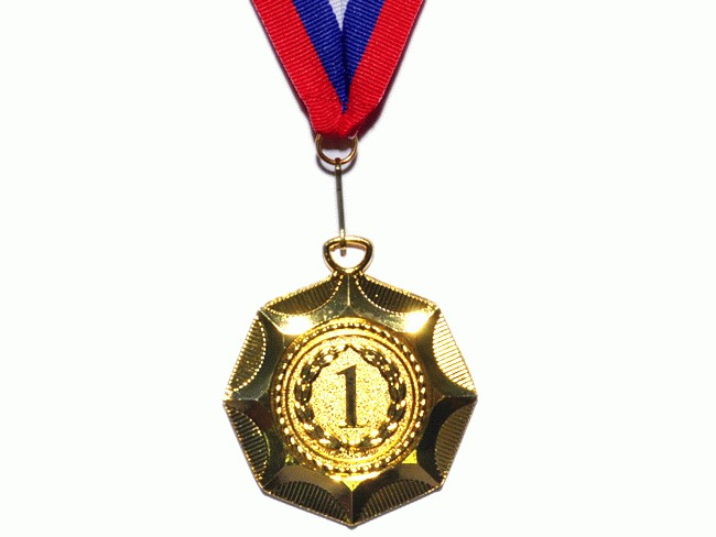 "Медаль ""Звезда""  E04: золото - 1"