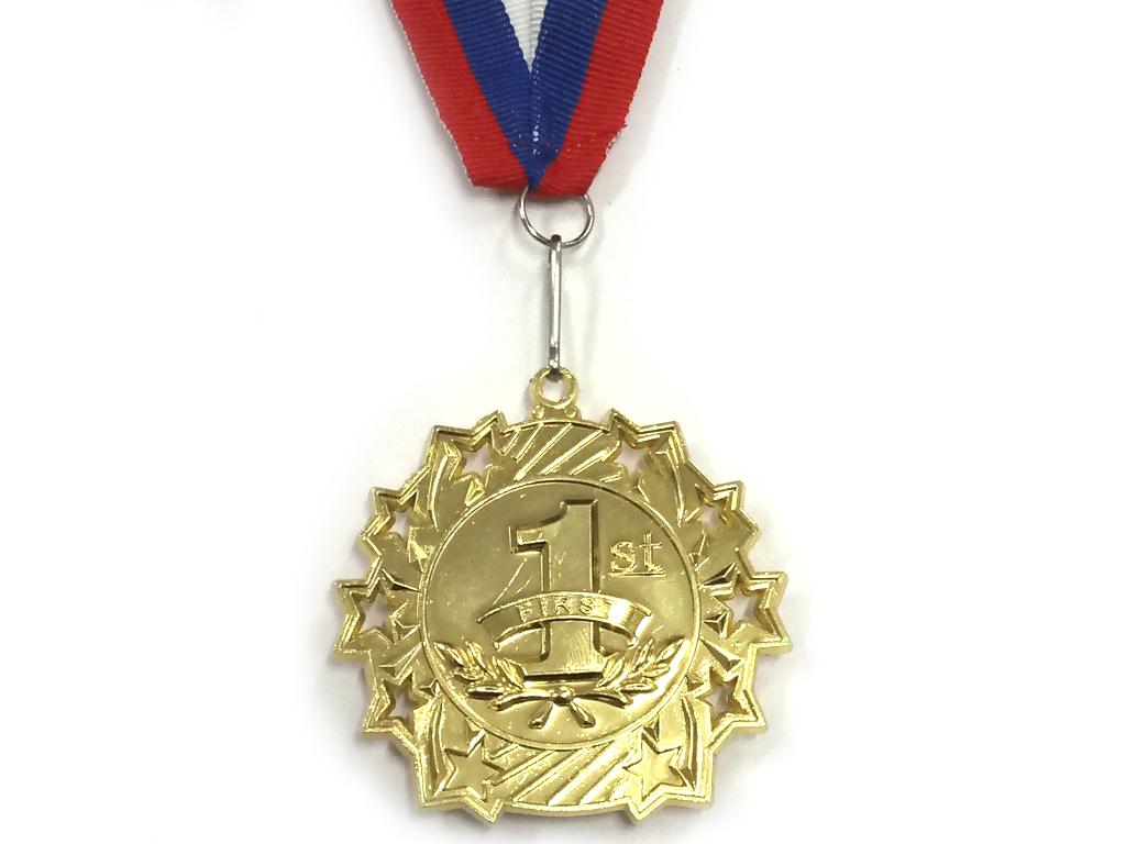 """Медаль с лентой """"Россия""""   1803: золото - 1"""